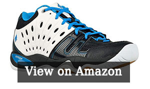 Ektelon Mens T22 Mid Synthethic Racquetball Shoes