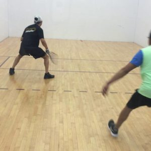 racquetball doubles rules